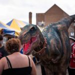 Hire a T-rex Hire a dinosaur realistic costume animatronic hire a dinosaur hire a dinosaur creature events rent a dinosaur
